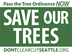 Save Seattle Trees yardsign logo